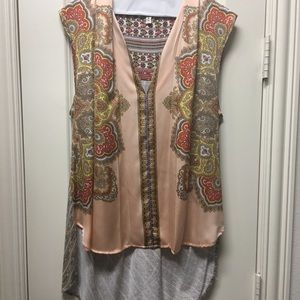 Anthropologie tee... high low